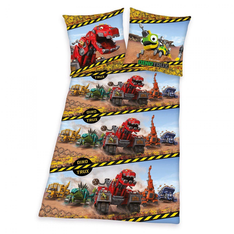 Kinderbettwäsche Mit Tollen Motiven Von Roller  Kinderbettlaken von Sandmann Bettwäsche 135X200 Bild
