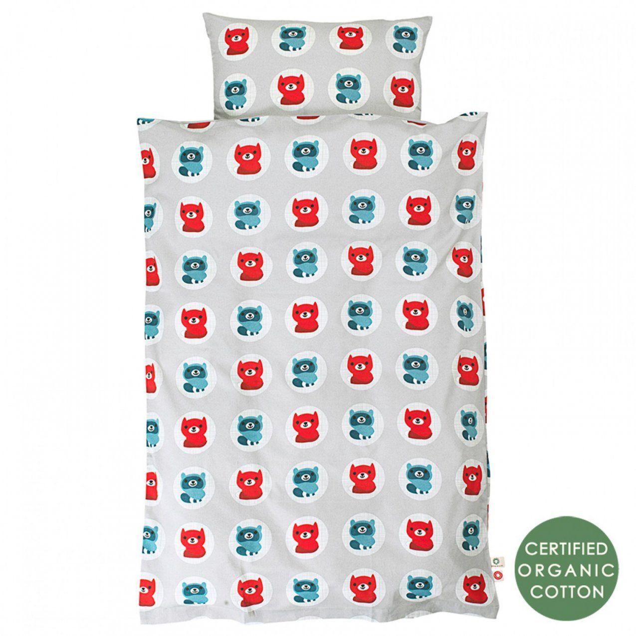Kinderbettwäsche Svante 100X135 Cm Biobaumwolle  Greenpicks von Kinderbettwäsche 100X135 Bio Bild