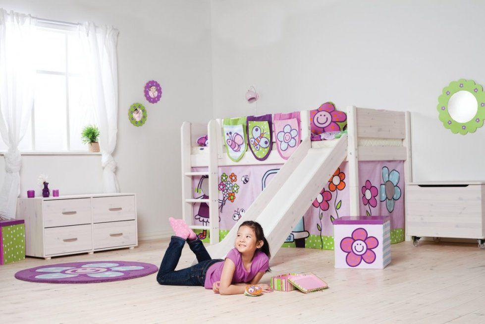 Kinderhochbett Flexa Halbhoch Rutsche Pickupmöbel von Kinderhochbett Mit Rutsche Günstig Kaufen Bild