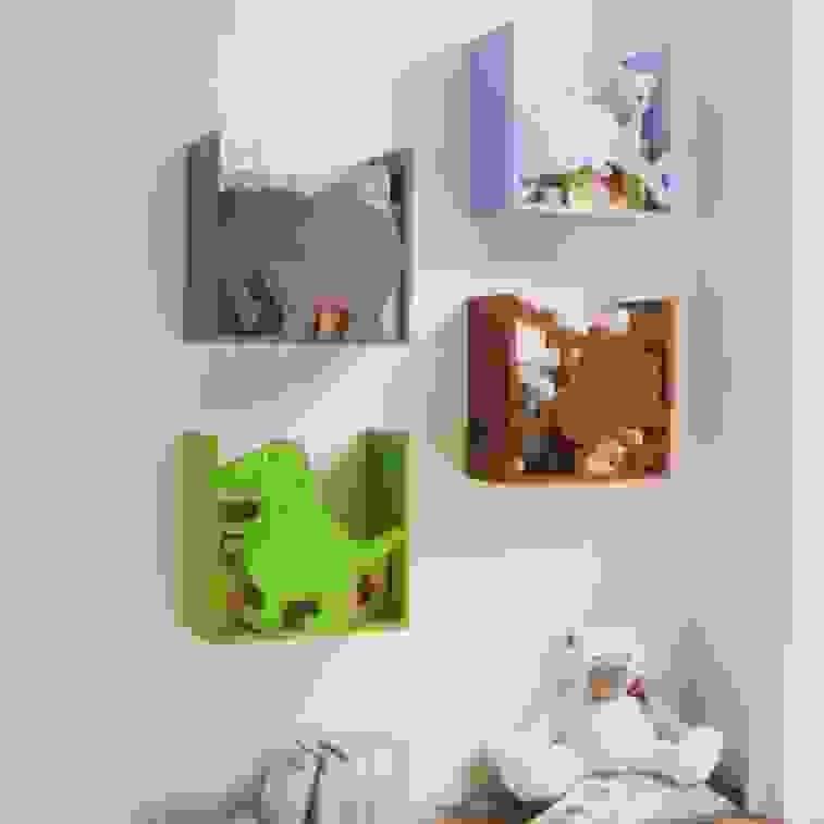 Kinderregal Delfin Spielzeugregal Wandregal Regal Kinderzimmer von Regal Mit Aufbewahrungsboxen Für Kinderzimmer Photo
