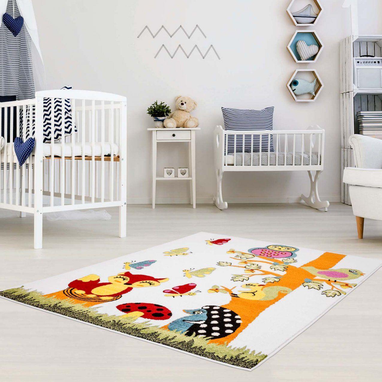 Kinderteppich Naturspaß  Moda Kids 5770 Multi  Spielteppich von Kinderzimmer Teppich Für Jungs Bild