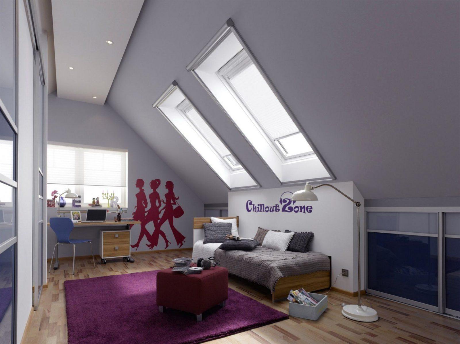 Kinderzimmer Dachschräge Einrichten Erstaunlich Auf Dekoideen Fur Von  Kinderzimmer Mit Dachschräge Einrichten Bild