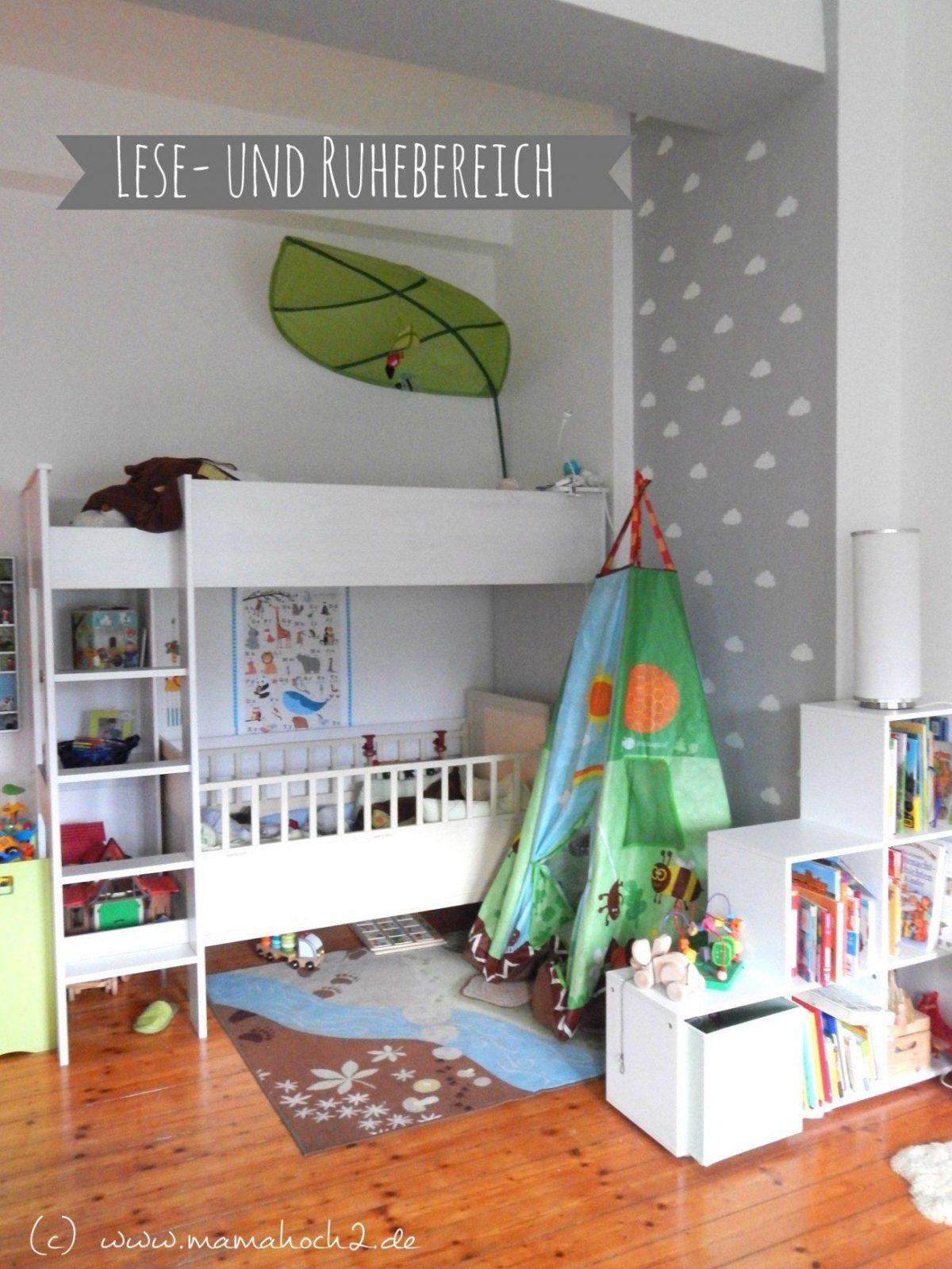 Kinderzimmer Für Zwei Lausebengel  Kinderzimmerideen  Kinderzimmer von Kleines Kinderzimmer Für Zwei Einrichten Bild