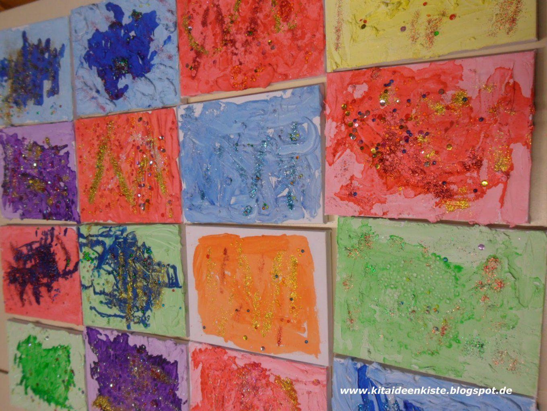 Kita  Ideenkiste Nicht Nur Für Erzieherinnen Keilrahmen Mit von Leinwand Gestalten Mit Kindern Bild