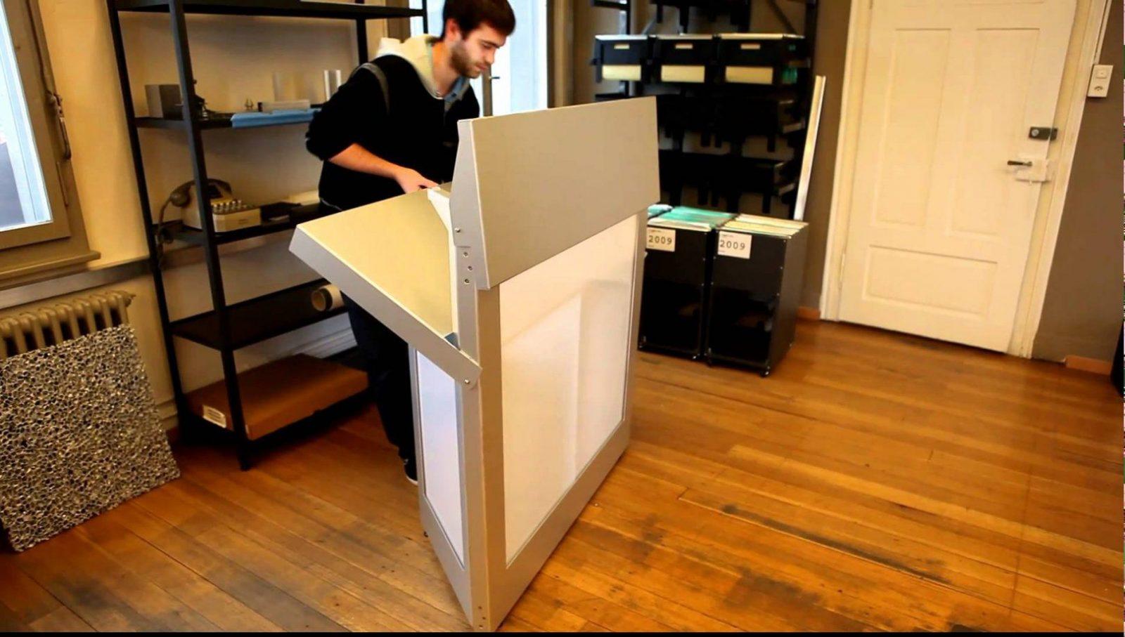 Klappbar Aus Aluminium Barelement  Youtube von Mobile Bar Selber Bauen Bild