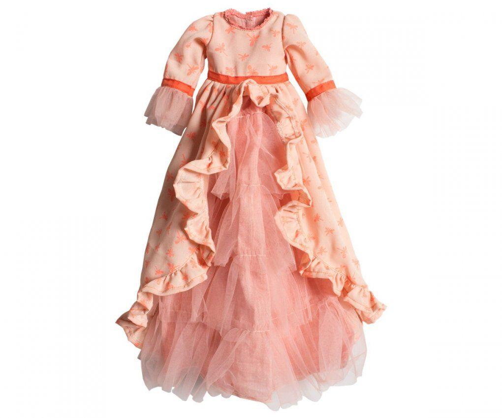 Kleid Prinzessin In Rosaorgange (Gr Mega)  Maru*maru von Bettwäsche Prinzessin Kleid Bild