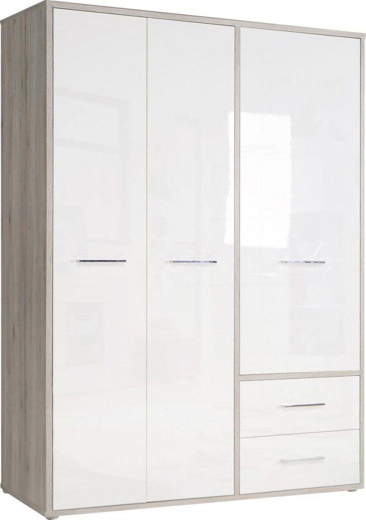 Kleiderschrank Jandia Sandeiche Nbhochglanz Weiß 1467 Cm von Kleiderschrank 2 50 M Breit Bild