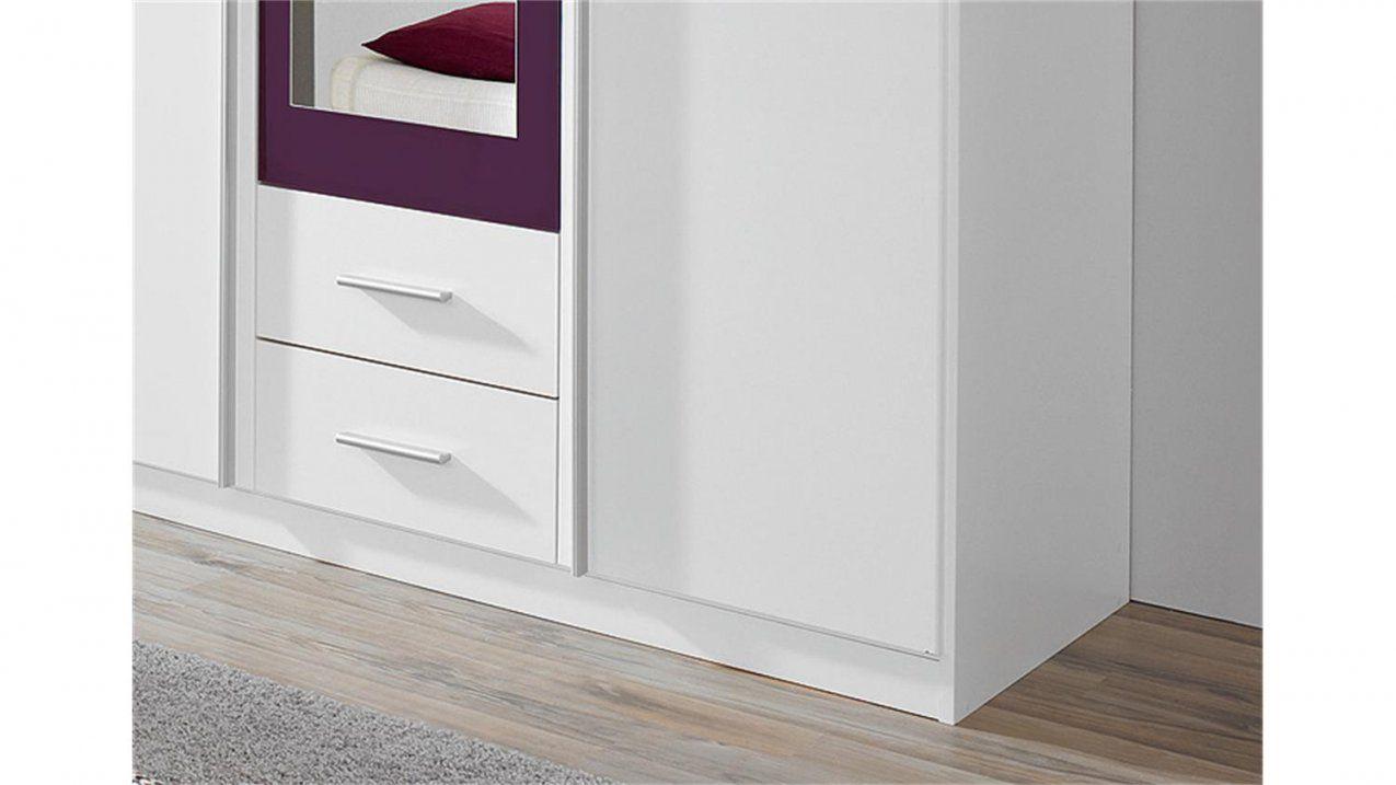 Kleiderschrank Krefeld Weiß Und Lila Mit Spiegel 136 Cm von Kleiderschrank Weiß Lila Mit Spiegel Bild
