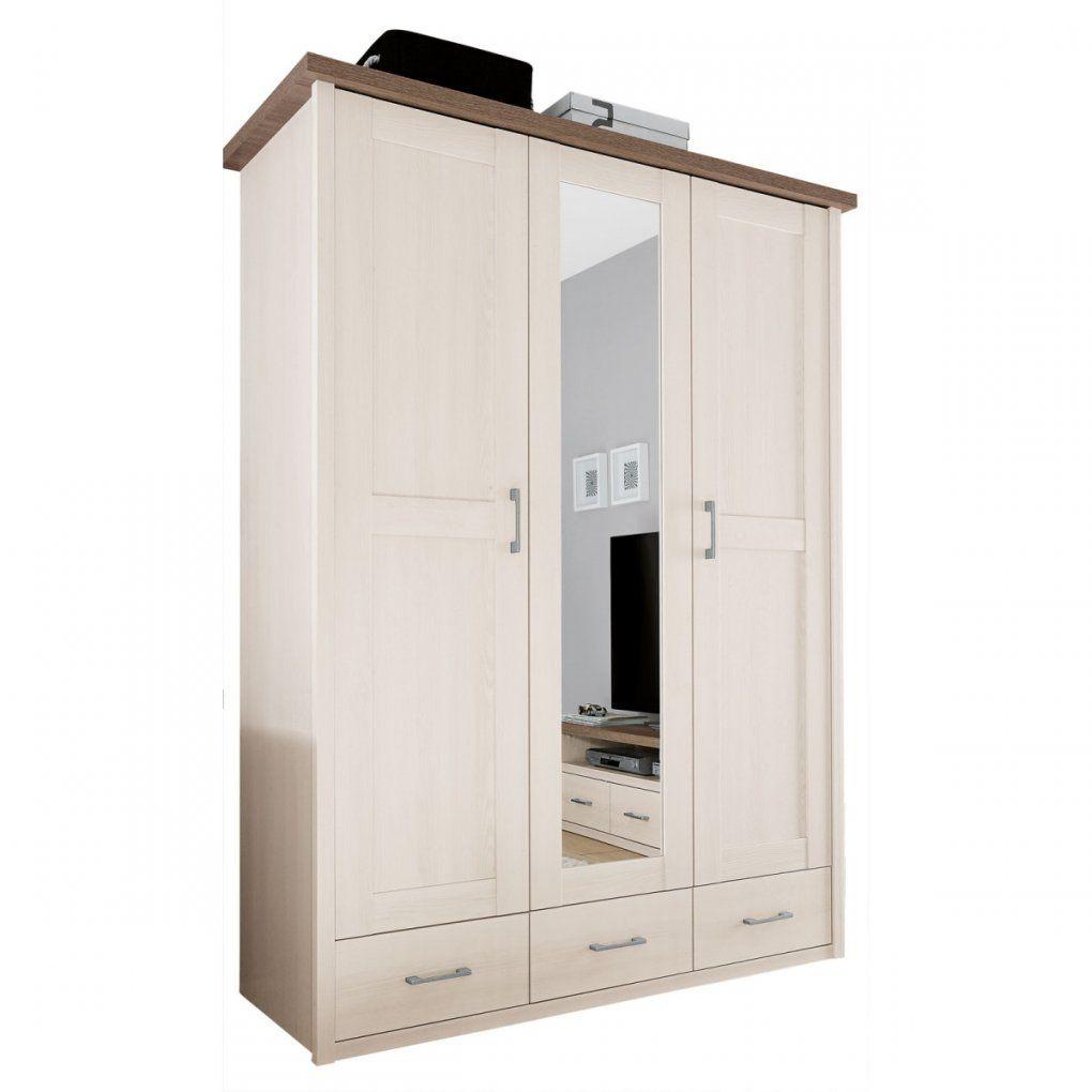 Kleiderschrank Luca Pinie Weiß Nachbildung Ca 148 X 201 X 62 Cm von Möbel Boss Kleiderschrank Weiß Photo