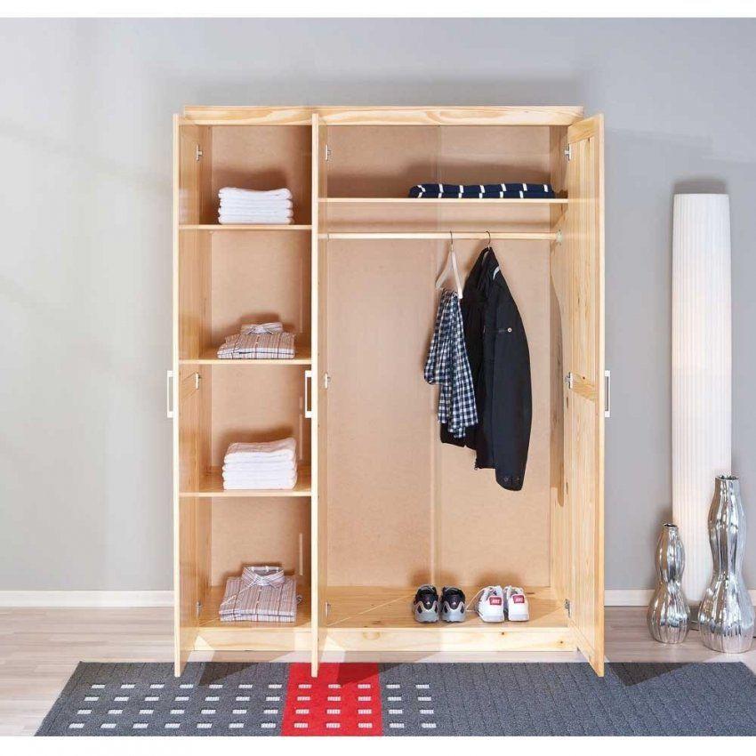 Kleiderschrank Nabrosia Aus Massivholz  Wohnen von Kleiderschrank 140 Cm Breit Bild