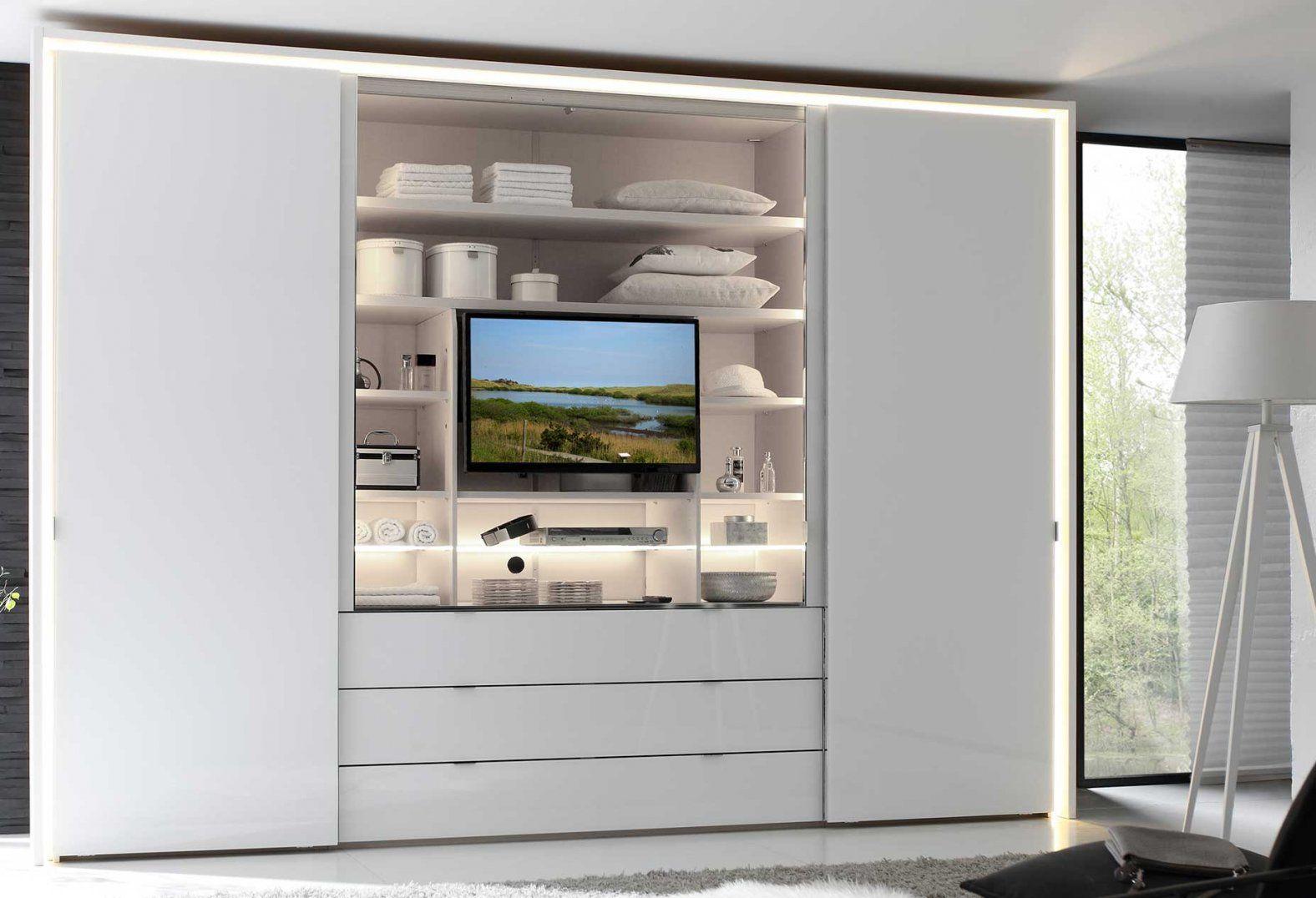 Kleiderschrank Tv Kombination Aussparung Schlafzimmer Mit Fach von Kleiderschrank Mit Tv Aussparung Photo