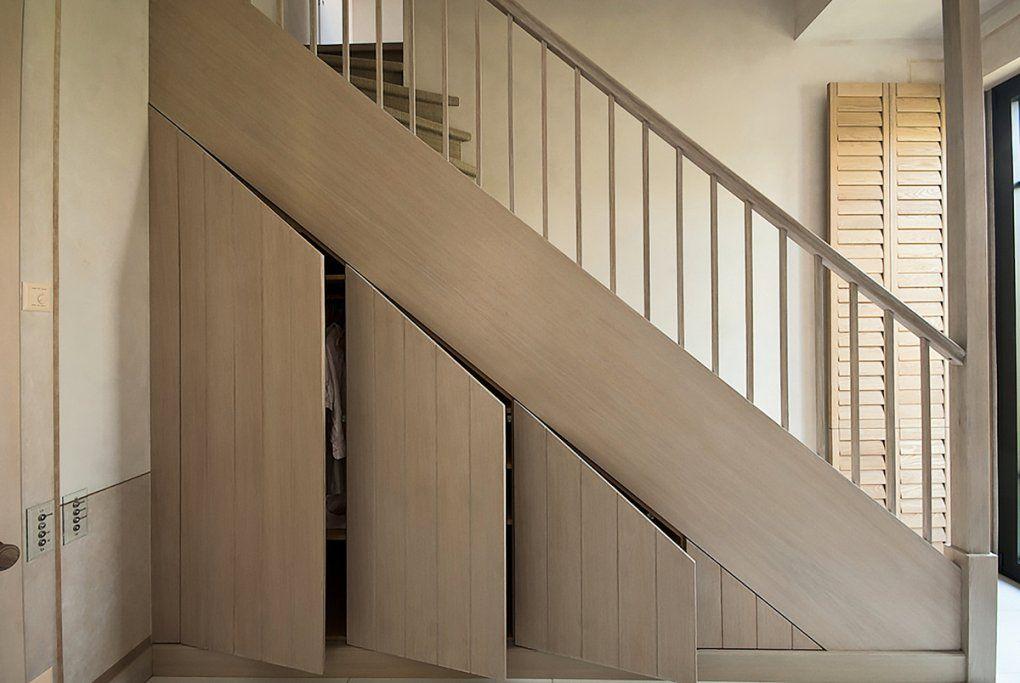 Kleiderschrank Unter Der Treppe Selber Bauen von Schrank Unter Treppe Bauanleitung Bild