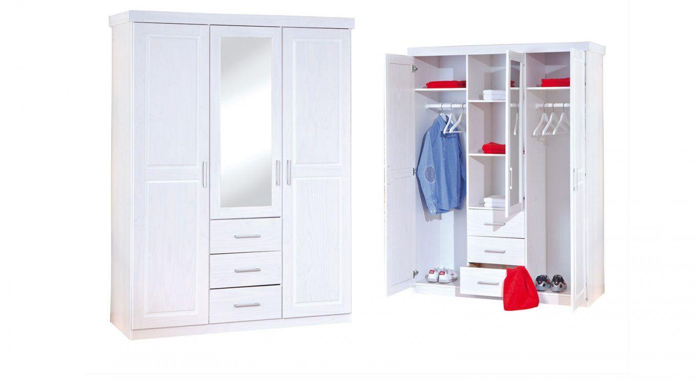 Kleiderschrank Weiß Mit Spiegel  Gispatcher von Kleiderschrank Weiß Lila Mit Spiegel Bild