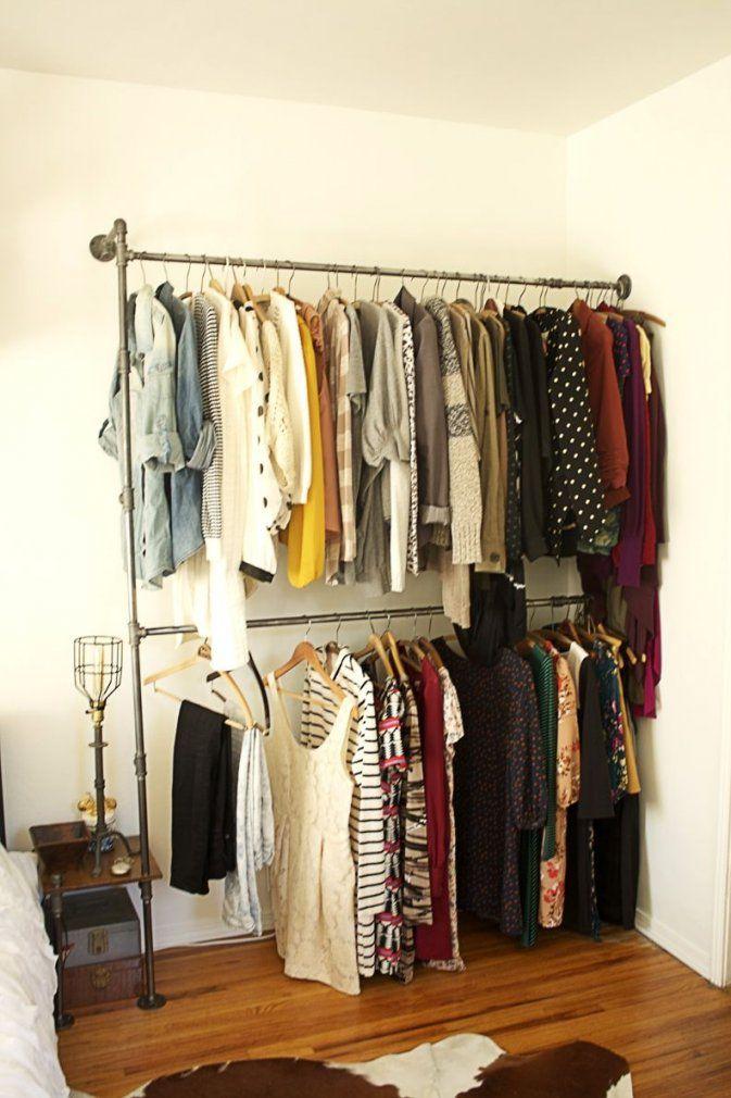 Kleiderständer Aus Rohren  Home  Pinterest  Kleiderständer Rohre von Kleiderständer Aus Rohren Selber Bauen Bild