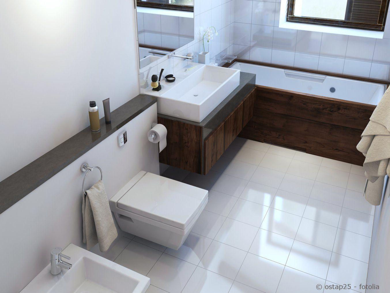Kleine Bäder Optimal Nutzen  Sanitär & Heizungsbau von Kleines Bad Optisch Vergrößern Bild