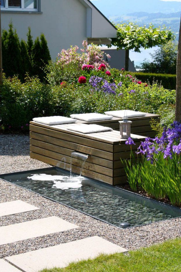 Kleine Brunnen Für Den Garten Inspirierend Einzigartig Wasserlauf von Brunnen Im Garten Anlegen Bild