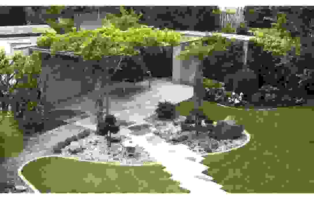 Kleine Gärten Gestalten Beispiele Grau Garten Farbe Zusammen Mit von Kleine Gärten Gestalten Bilder Bild