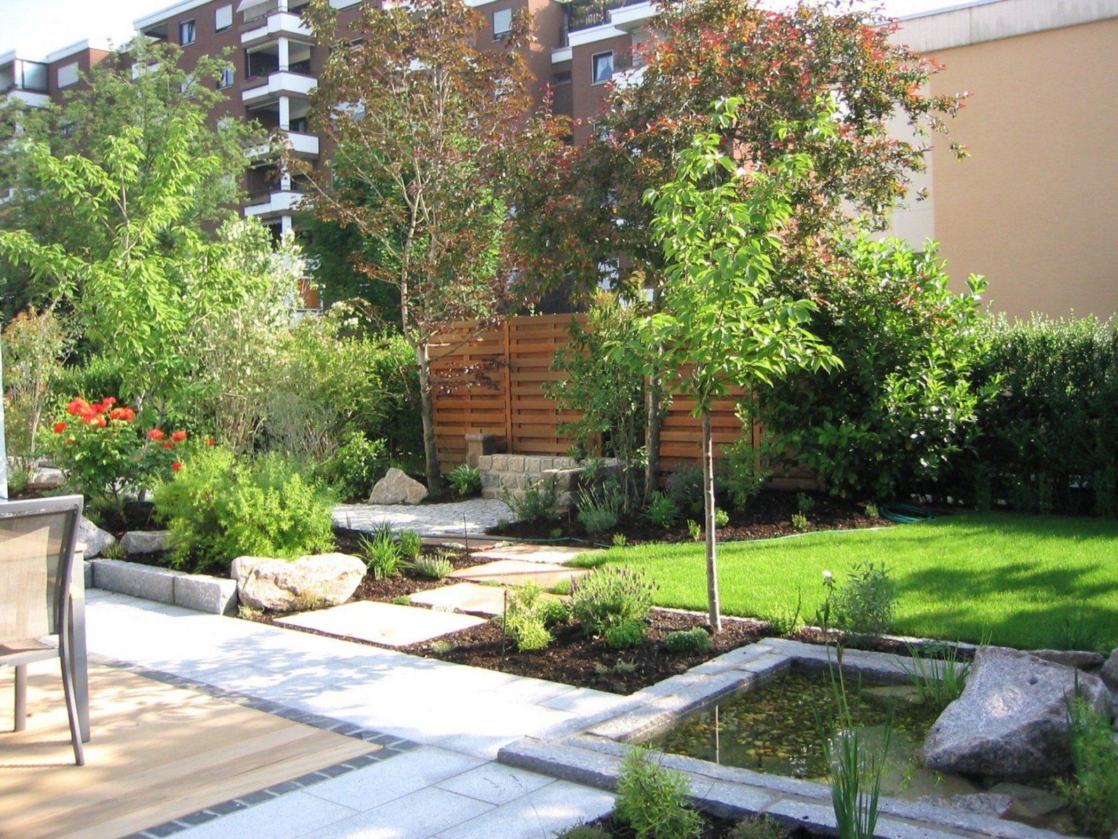 Kleine Gärten Gestalten Ohne Rasen Schön Gartenideen Reihenhaus von Kleine Gärten Gestalten Ohne Rasen Bild