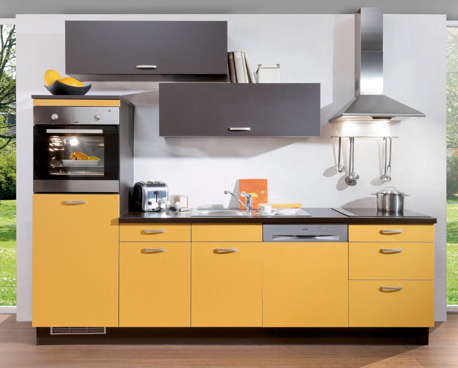 Kleine Kchenzeile Mit Elektrogerten Excellent Küchenzeile Mit von Küchenzeile 230 Cm Breit Bild
