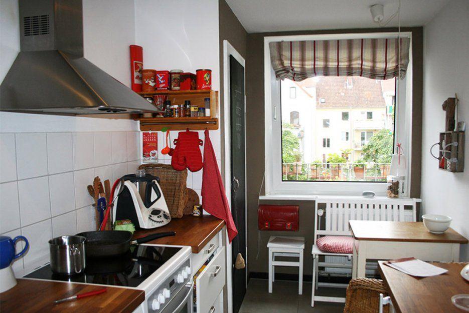 Kleine Küche  Optimal Genutzt  Gebluemlich von Kleine Sitzecke Für Küche Photo