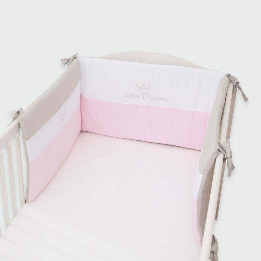 Kleine Prinzessin Nestchen Rosa 40 X 190 Cm Aus Der Be Be's Collection von Baby Bettwäsche Set Kleine Prinzessin Bild