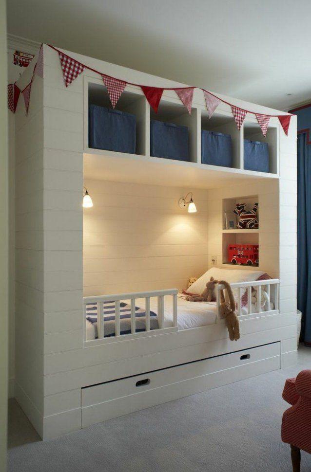 Kleine Räume Mit Praktischem Stauraum Ausstatten  Ideen Rund Ums von Kleine Kinderzimmer Geschickt Einrichten Photo