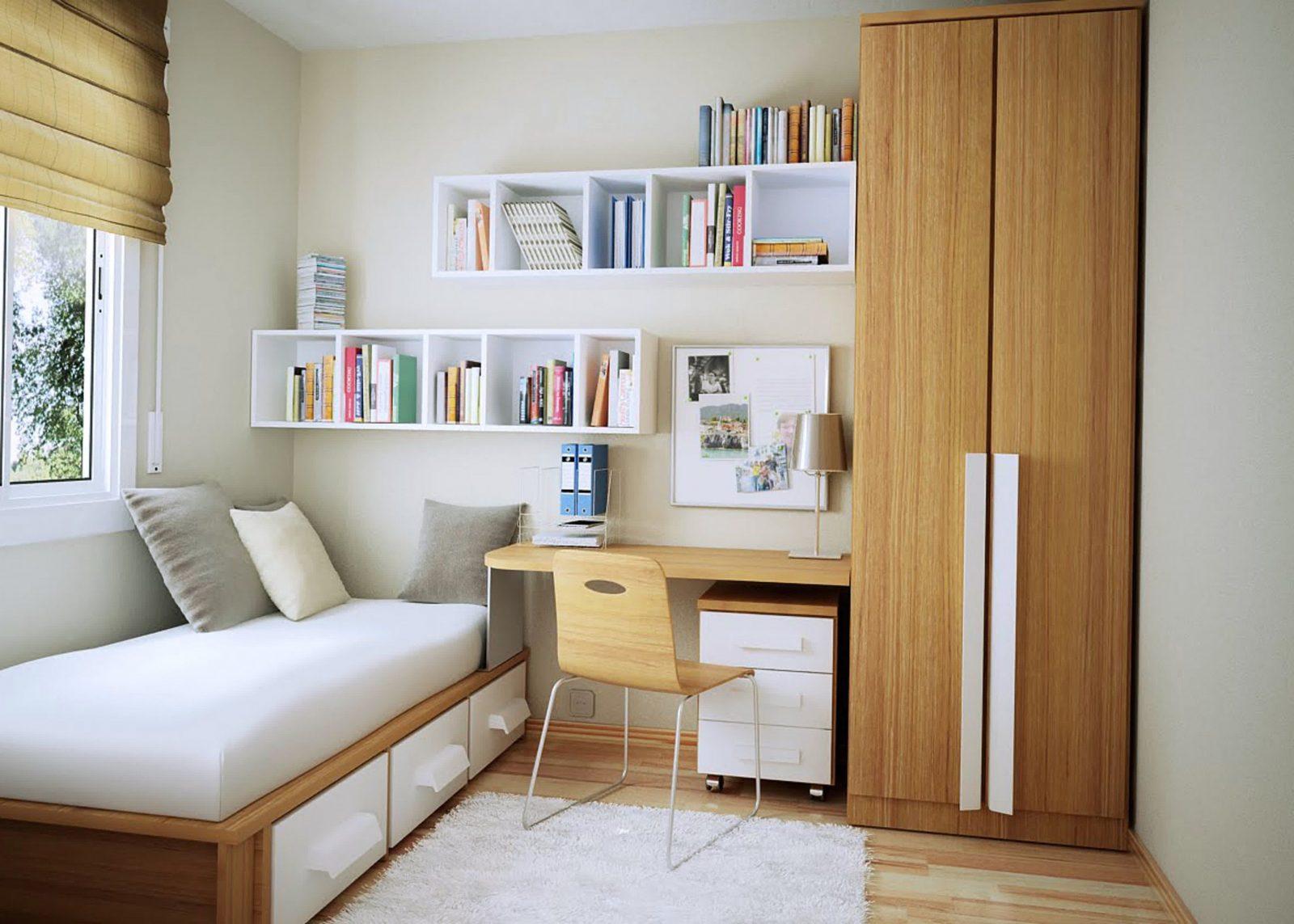 Kleine Schlafzimmer Günstige Schlafzimmer Ideen Für Kleine Räume von Schlafzimmer Ideen Kleine Räume Bild