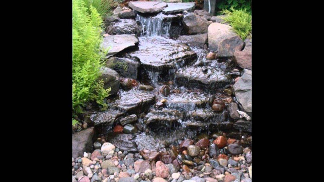 Kleine Wasser Garten Ideen  Youtube von Wasser Ideen Für Den Garten Photo