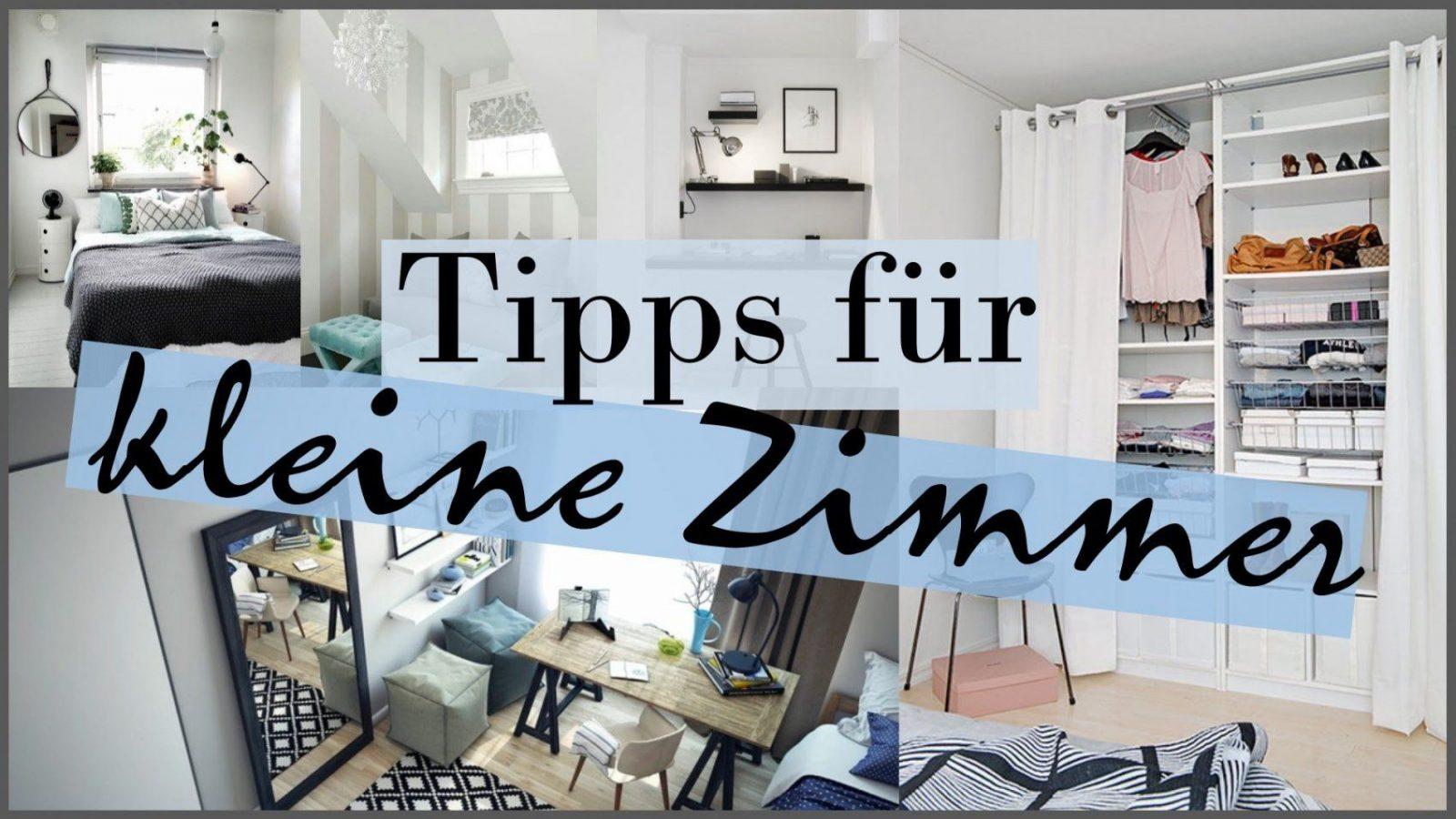 Kleine Zimmer Schön Machen  Tipps Tricks Hilfen Ideen  ♥Anna von Jugendzimmer Gestalten Kleiner Raum Photo