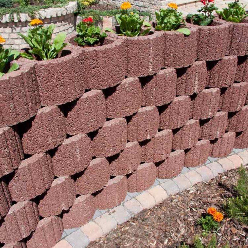 Kleinen Garten Mit Pflanzsteinen Gestaltenpflanzringe Setzen 20 von Garten Gestalten Mit Pflanzsteinen Bild