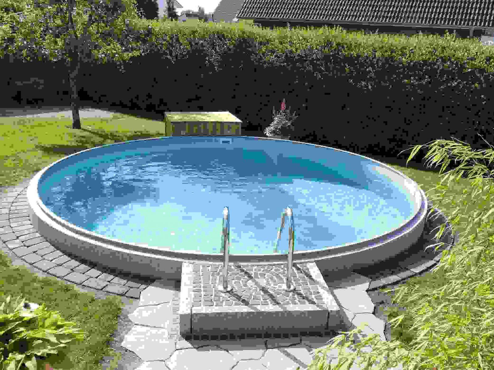 Kleiner Pool Im Garten Idee  Almo Drg von Kleiner Pool Im Garten Selber Bauen Bild