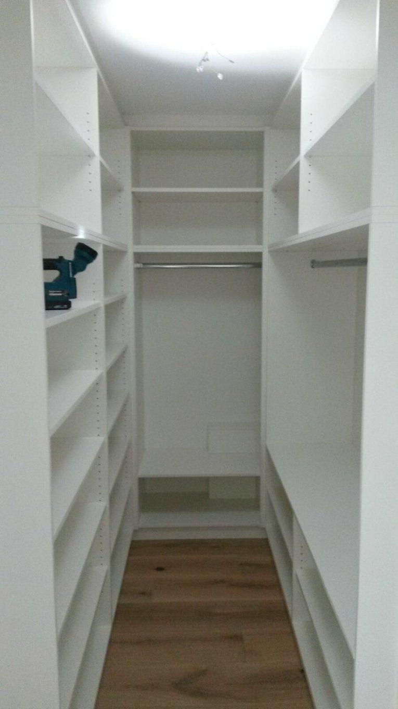 Kleiner Raum Begehbarer Kleiderschrank  Kleiderschrank  Pinterest von Kleiner Begehbarer Kleiderschrank Selber Bauen Photo
