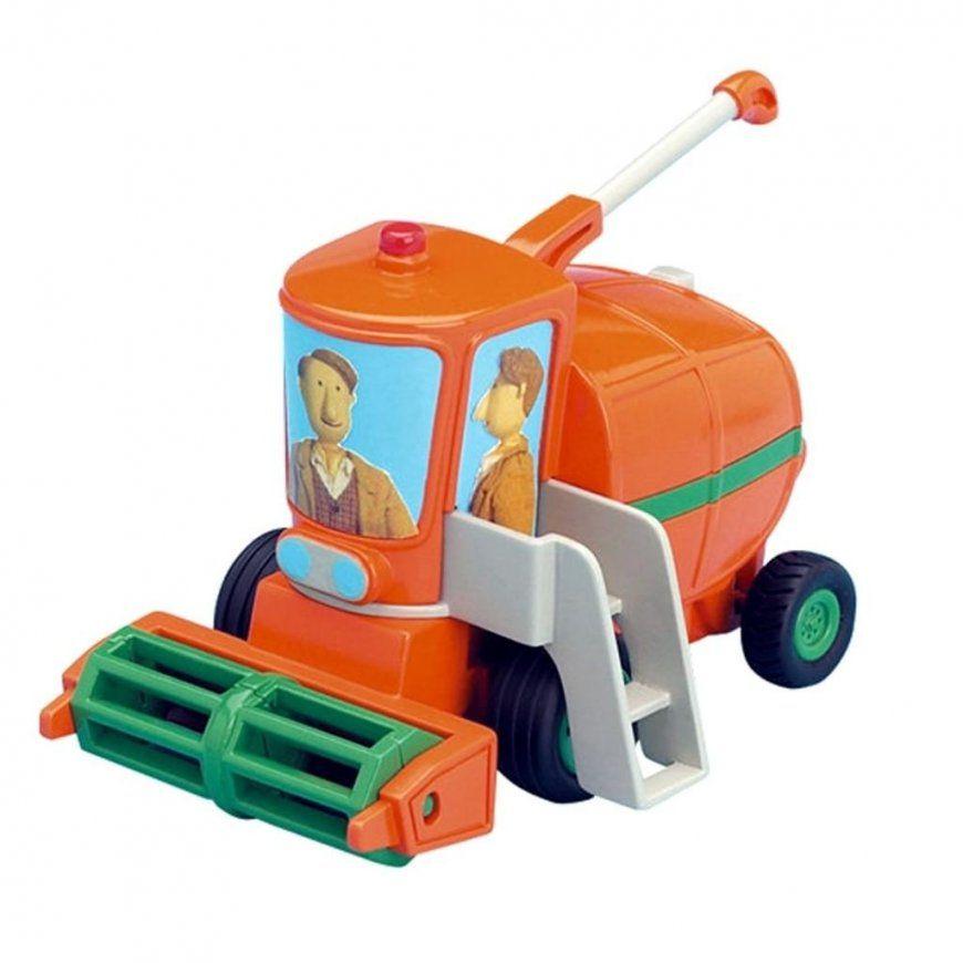 Kleiner Roter Traktor  Ernter Mit Rückzugmotor  Real von Bettwäsche Kleiner Roter Traktor Photo