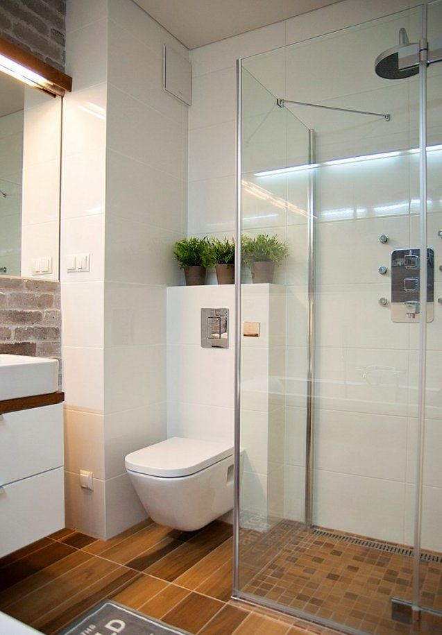 Kleines Bad Einrichten  51 Ideen Für Gestaltung Mit Dusche von Möbel Für Kleine Bäder Bild