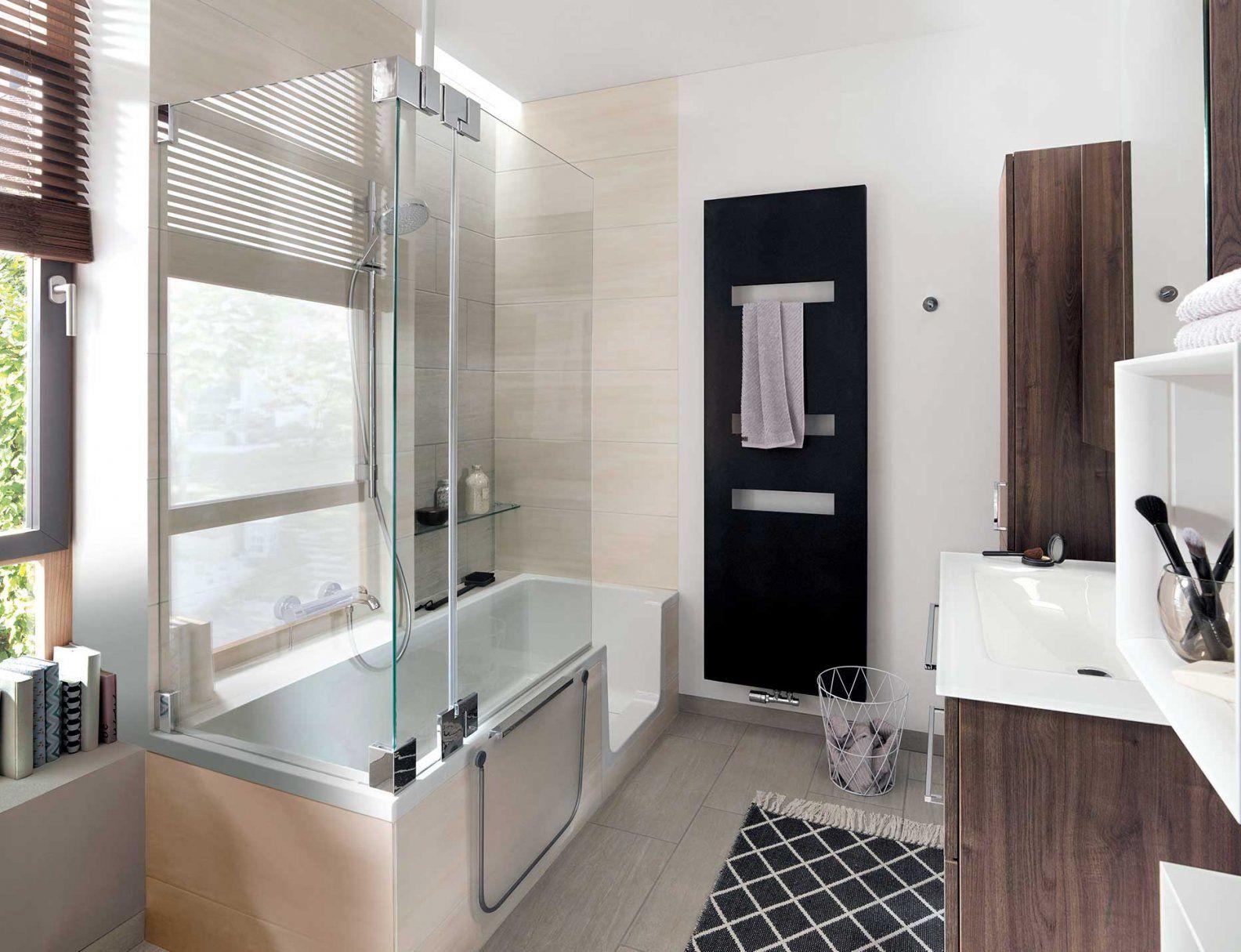Kleines Bad Und Trotzdem Komplett  Wohnen von Badewanne Dusche Kleines Bad Photo
