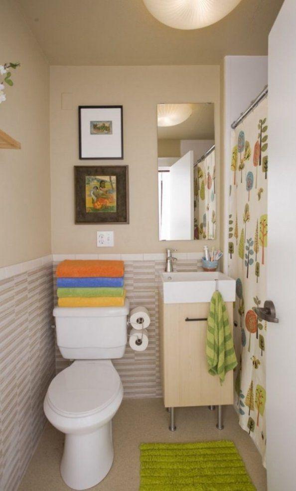 Kleines Badezimmer Gestalten  30 Fliesen Ideen Und Tipps von Fliesen Ideen Für Kleines Bad Bild