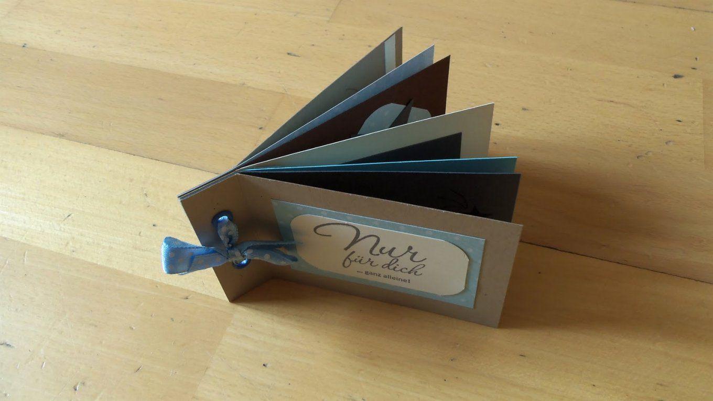 Kleines Fotoalbum Selber Basteln Mit Sabines Stempelwelt 6 Und Plus von Kleines Fotoalbum Selber Basteln Bild