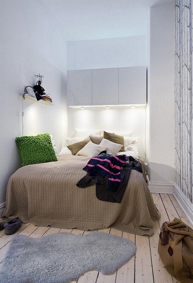 Kleines Schlafzimmer Einrichten  Tipps Und Ideen von Bett Ideen Für Kleine Zimmer Bild