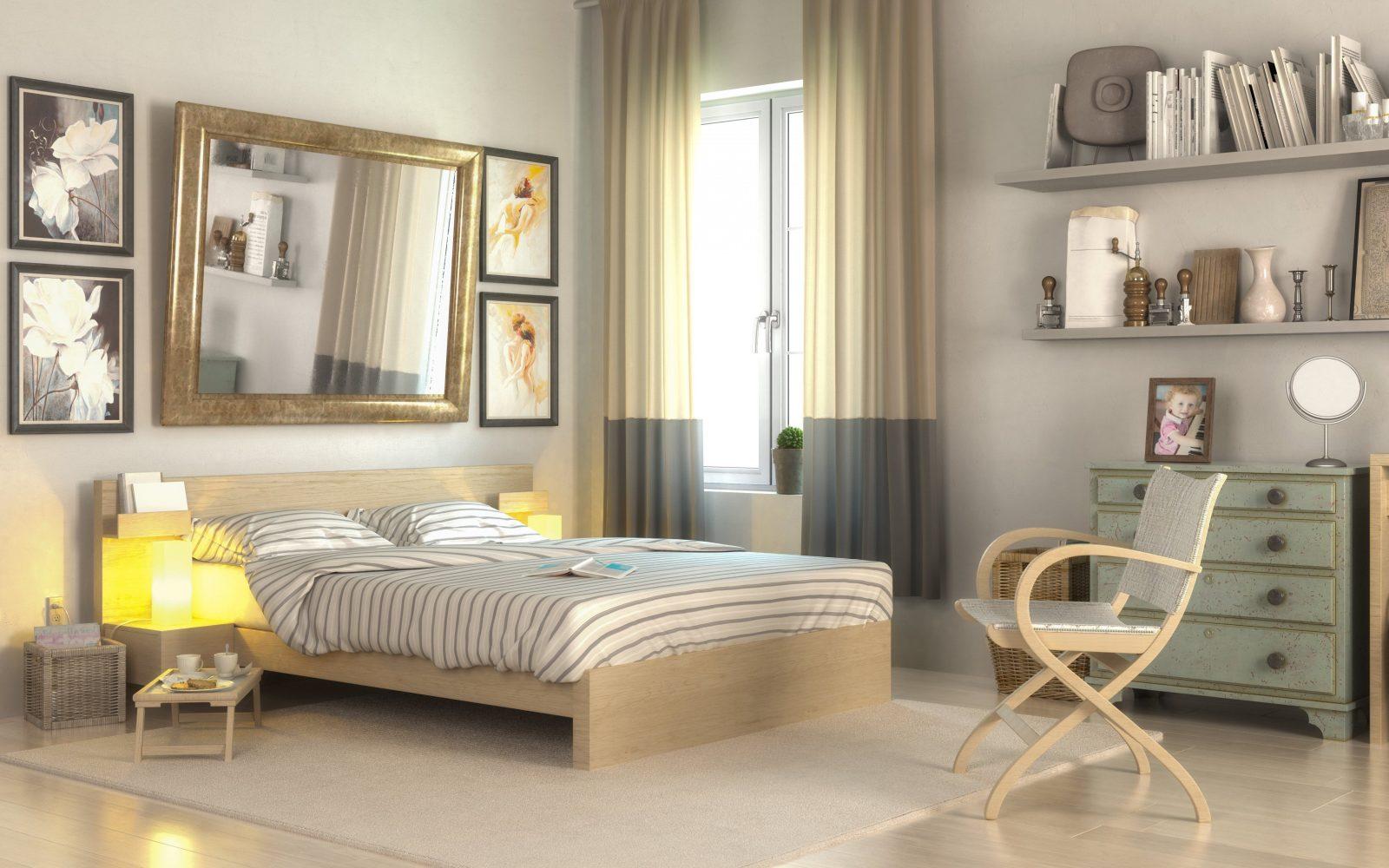 Kleines Schlafzimmer Optimal Einrichten  8 Ideen Vorgestellt von Bett Ideen Für Kleine Zimmer Bild
