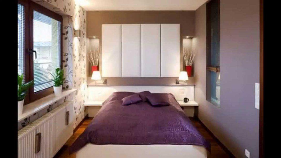 Kleines Schlafzimmerideen  Youtube von Kleine Schlafzimmer Schön Einrichten Bild