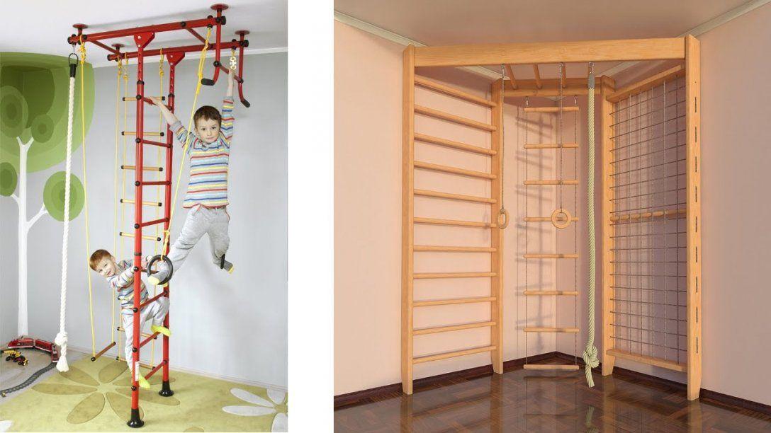 Klettergerüst Indoor Kinderzimmer Wunderbar Sprossenwand Selber Von