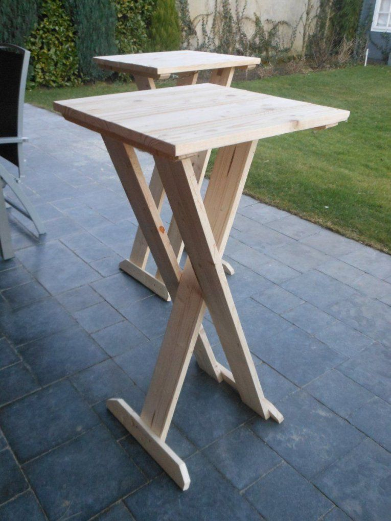 Klicke Auf Dieses Bild Um Es In Vollständiger Größe Anzuzeigen von Stehtisch Holz Selber Bauen Bild