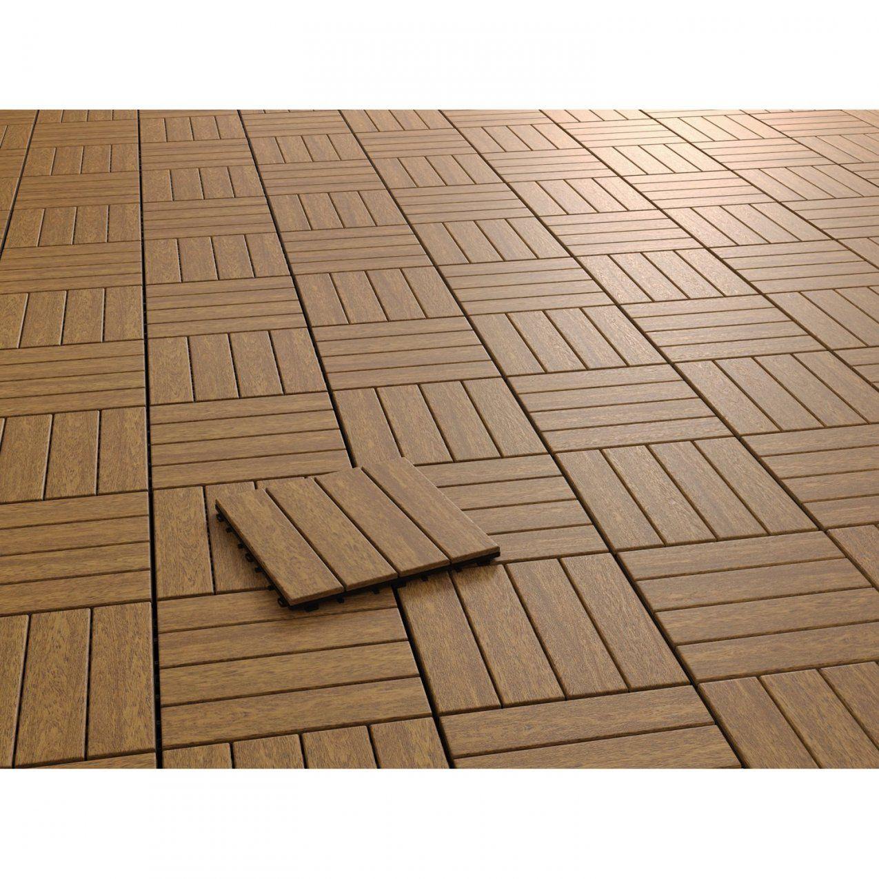Klickfliese Holz Cumaru 6 Stück 30 Cm X 30 Cm X 25 Cm Kaufen Bei Obi von Wpc Fliesen Günstig Kaufen Bild
