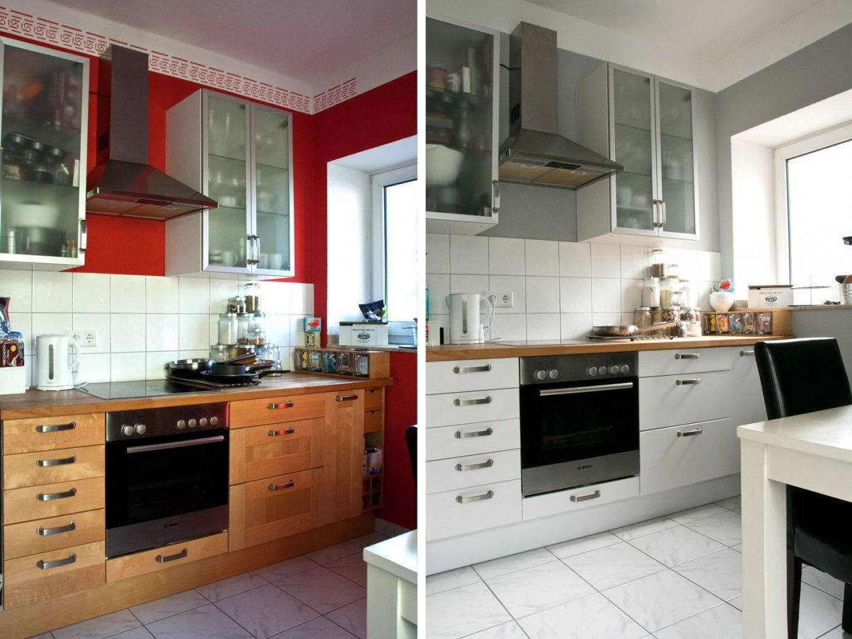 Kokoslimettendonuts  Rezept  Ikea Faktum Vorher Nachher Und Fakten von Küchenfronten Lackieren Vorher Nachher Bild