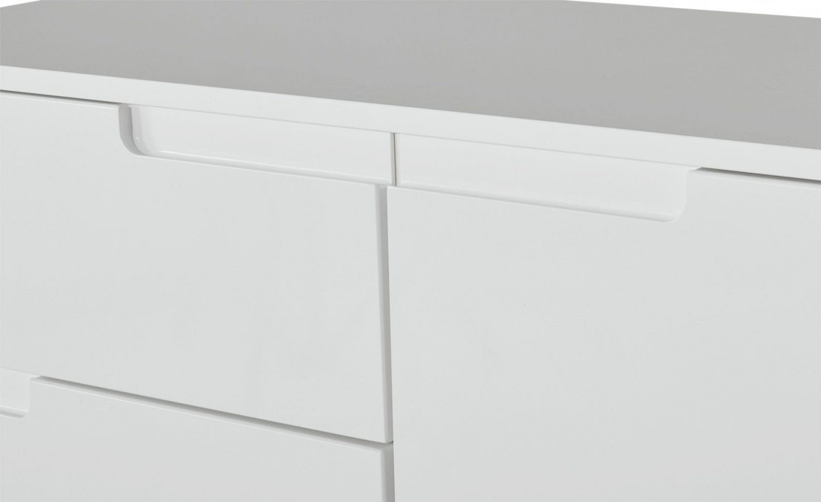 Kommode Weiß Breit 100 Cm Palermo  Möbel Höffner von Kommode Weiß Hochglanz 100 Cm Breit Photo