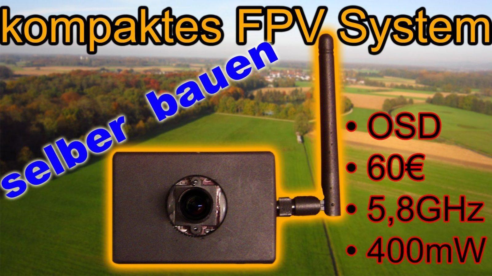 Kompaktes Fpv System Selber Bauen  Full Hd  Tutorial  Youtube von Fpv Brille Selber Bauen Photo