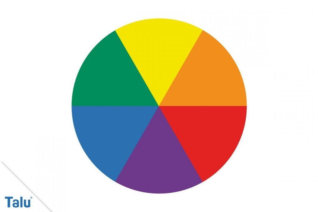Komplementärfarben  Definition + Farben Richtig Kombinieren  Talu von Welche Farben Ergeben Braun Bild