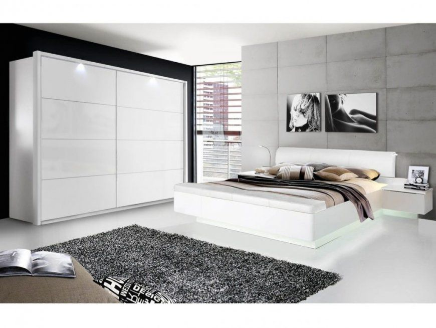 Komplett Schlafzimmer Siena Hochglanz Weiß Und Elegante Mit 8 Images von Schlafzimmer Komplett Hochglanz Weiss Bild