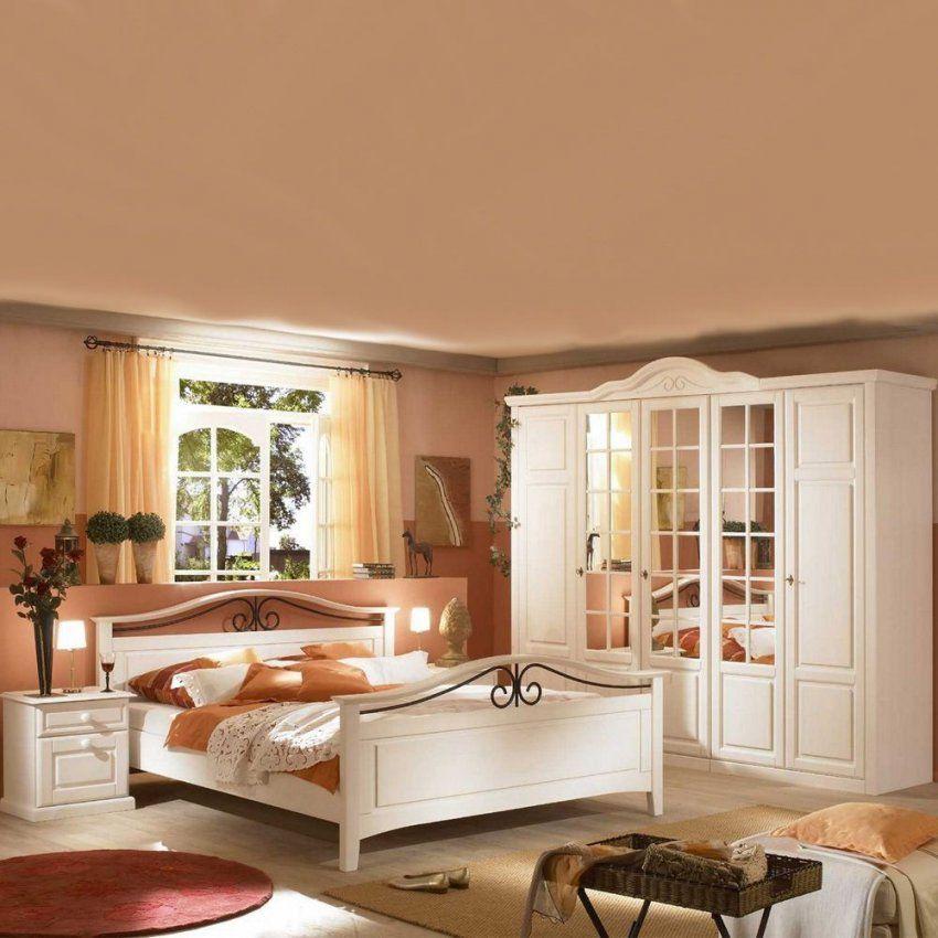 Komplettes Landhaus Schlafzimmer Mariana  Pharao24 von Schlafzimmer Komplett Weiß Landhaus Bild