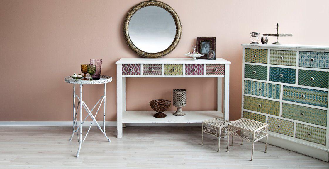 Konsolentisch Weiß Hochglanz 70% Rabatt  Westwing von Spiegel Mit Konsole Modern Bild